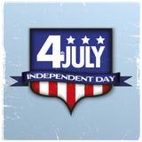 Предпосылка Дня независимости Стоковое Фото