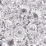 предпосылка легкая редактирует вектор цветков иллюстрация штока