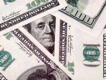 Предпосылка денег долларов США Стоковые Фото