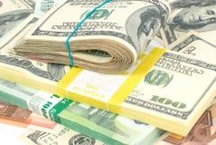 Предпосылка денег Стоковые Фото