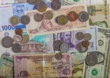 Предпосылка денег Стоковые Изображения RF
