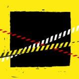 Предпосылка ленты опасности Стоковые Изображения