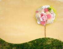 Предпосылка дерева цветка рассказа свадьбы Стоковые Фотографии RF