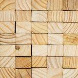 Предпосылка деревянного блока Стоковая Фотография
