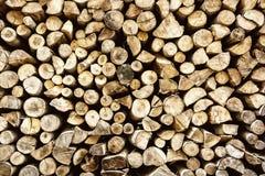 Предпосылка деревянных журналов, деревянная индустрия Стоковые Фотографии RF