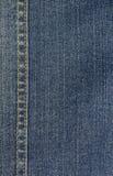 Предпосылка детали джинсовой ткани Стоковая Фотография RF