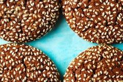 Предпосылка еды с частями печенья Стоковые Фотографии RF