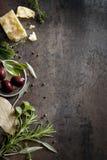 Предпосылка еды Стоковая Фотография RF