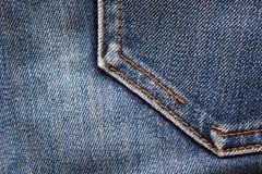 Предпосылка джинсовой ткани Стоковые Фотографии RF