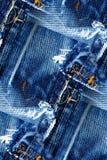 Предпосылка джинсов безшовная Стоковая Фотография