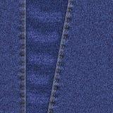 Предпосылка джинсов джинсовой ткани Стоковая Фотография RF