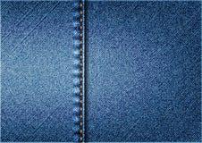 Предпосылка джинсов Стоковая Фотография RF
