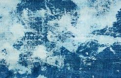 Предпосылка джинсов Grunge абстрактная Стоковое Фото