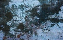 Предпосылка джинсов Grunge абстрактная Стоковые Фото