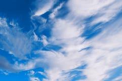 1 предпосылка заволакивает пасмурное небо Драматические облака облачного неба - естественный ландшафт неба Стоковое Изображение RF