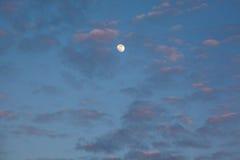 1 предпосылка заволакивает пасмурное небо Стоковая Фотография RF