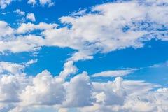 1 предпосылка заволакивает пасмурное небо Стоковое Изображение