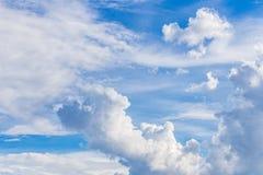 1 предпосылка заволакивает пасмурное небо Стоковые Фотографии RF