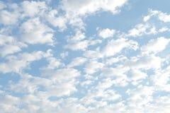 1 предпосылка заволакивает пасмурное небо Стоковая Фотография