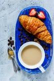 Предпосылка завтрака установленная Стоковое фото RF