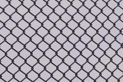 Предпосылка загородки звена цепи Стоковое фото RF