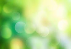 Предпосылка запачканная зеленым цветом абстрактная Стоковое фото RF