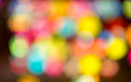Предпосылка запачканная конспектом светлая Стоковые Фото