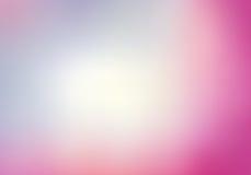 Предпосылка запачканная пинком с светом - синью Стоковые Изображения RF