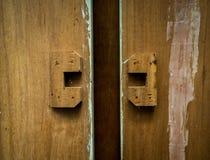 Предпосылка запятнанная конспектом деревянная Стоковое Изображение