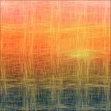Предпосылка захода солнца/восхода солнца текстурированная Weave Стоковые Изображения RF