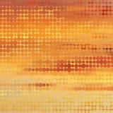 Предпосылка захода солнца тематическая с круговой решеткой Стоковое Фото