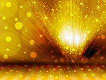 предпосылка звёздная Стоковая Фотография RF
