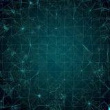 Предпосылка - зеленая мозаика Стоковые Изображения