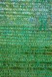 Предпосылка зеленого пластичного тента используемого как навес. Стоковые Изображения RF