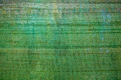Предпосылка зеленого пластичного тента используемого как навес. Стоковая Фотография RF