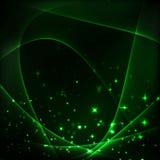 Предпосылка зеленого света Стоковые Изображения RF