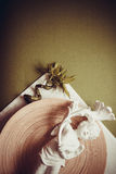 Предпосылка зеленого цвета Spa&beauty Стоковое Фото