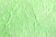 Предпосылка зеленой книги с структурой волокна Стоковые Фото