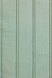 Предпосылка зеленых деревянных планок поверхностная Стоковая Фотография