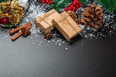 Предпосылка зимы праздника Стоковая Фотография