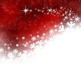 Предпосылка зимы с темой рождества Стоковые Изображения