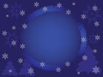 Предпосылка зимы для представления, космоса для текста Стоковое Фото