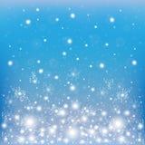 Предпосылка зимы Стоковое Изображение RF