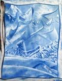 Предпосылка зимы бесплатная иллюстрация