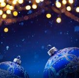 Предпосылка знамени рождества Стоковое Изображение RF