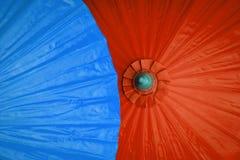 Предпосылка зонтика цвета бумажная Стоковое фото RF