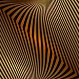Предпосылка золота абстрактного металла вектора оранжевая с Стоковое Изображение RF