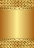 Предпосылка золота Стоковые Фото