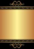 Предпосылка золота Стоковые Фотографии RF