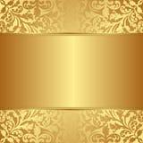 Предпосылка золота Стоковые Изображения RF